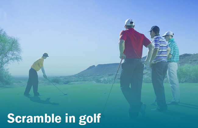 scramble in golf