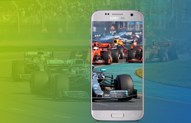 Can I watch F1 on my Mobile